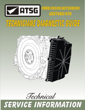 GETRAG DCT450 Technician Guide