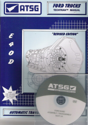 Ford E4OD Transmission Training DVD Video & Rebuild Manual Combo Pack