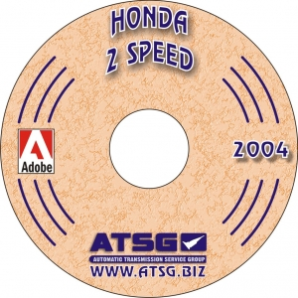 Honda 2 Speed Transaxle Rebuild Manual - CD-ROM