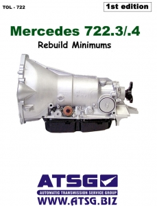 Mercedes 722.3 / 722.4 Transaxle Overhaul Manual by Greg Catanzaro