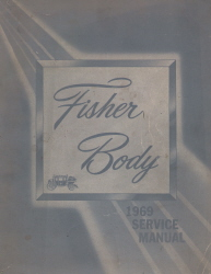 1969 General Motors Fisher Body Assembly Service Manual