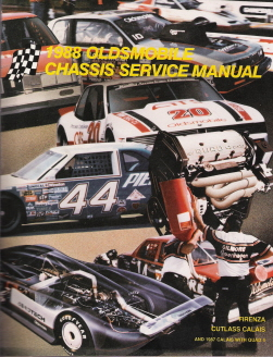 1988 Oldsmobile Chassis Factory Service Manual - Firenza & Cutlass Calais