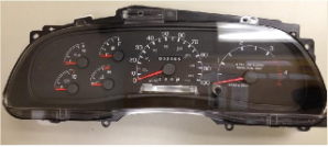 2008 - 2011 Ford F650 F750 Instrument Cluster Repair Diesel Only