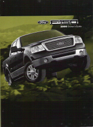 2008 Ford F-150 Factory Owner's Manual with Case