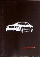2008 Ford Mustang Factory Owner's Manual