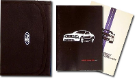 2008 Ford Mustang Shelby Factory Owner's Manual Portfolio