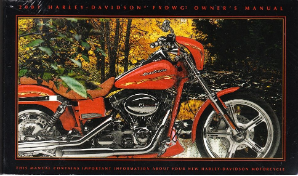 2001 Harley-Davidson FXDWG2 Owner's Manual