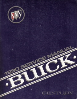 1990 Buick Century Factory Service Manual