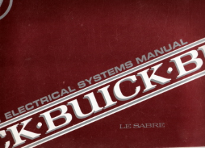1991 Buick LeSabre Electrical Systems Manual