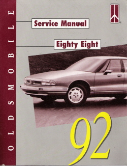 1992 Oldsmobile Eighty Eight Factory Service Manual