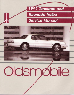 1991 Oldsmobile Toronado & Olds Toronado Trofeo Factory Service Manual