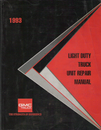1993 Chevrolet Light Duty Truck Unit Repair Manual