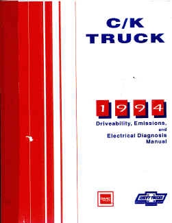 1994 Chevrolet Truck Light Duty Electrical Supplement Shop Manual