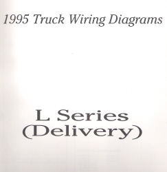1995 Ford Medium/Heavy Truck L-Series Wiring Diagrams (Delivery Configuration)