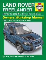 1997 - 2006 Land Rover Freelander Haynes Repair Manual