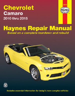 2010 - 2015 Chevrolet Camaro Haynes Repair Manual