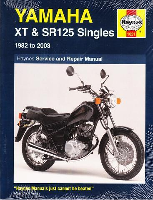 1982 - 2003 Yamaha XT125, SR125 Singles Haynes Owners Workshop Manual