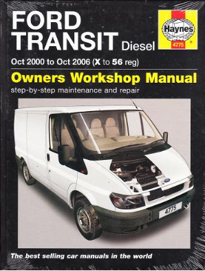 2000 - 2006 Ford Transit Diesel, Haynes Repair Manual