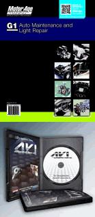 ASE Test Prep Manual & DVD-ROM -- Automobile G1, Automotive Maintenance and Light Repair by MotorAge