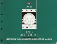 1998 Ford F&B 700 / 800 / 900 EVTM - Electrical and Vacuum Troubleshooting Manual