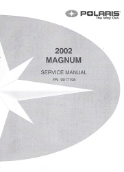 2002 Polaris Magnum Factory Service Manual