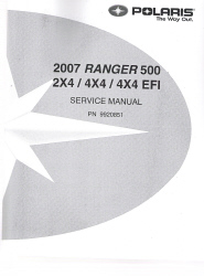 2007 Polaris Ranger 500 Factory Service Manual