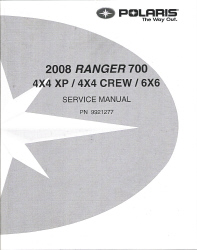 2008 Polaris Ranger 700 Factory Service Manual