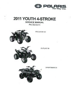2011 Polaris Outlaw 50, Outlaw 90 & Sportsman 90 Factory Service Manual