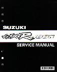 1992 - 1993 Suzuki GSX-R600 Factory Service Manual