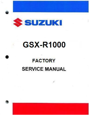 2005 - 2006 Suzuki  GSX-R1000 Factory Service Manual