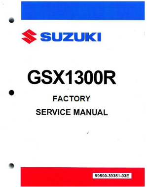 2008-2015 Suzuki GSX1300R Hayabusa Service Repair Workshop Manual