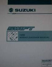 1995 Suzuki Swift Factory Wiring Diagrams Manual