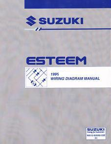 1995 Suzuki Esteem Factory Wiring Diagrams Manual