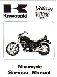 1985 - 2006 Kawasaki Vulcan 700 & 750 Motorcycle Factory Service Manual