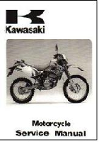 1993 - 1996 Kawasaki KLX250R & KLX250 Motorcycle Factory Service Manual