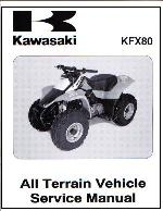 2003 Kawasaki KFX80 Factory Repair Manual