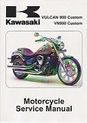 2007 - 2013 Kawasaki  Vulcan Custom  VN900C Factory Service Manual