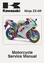2007 - 2008 Kawasaki Ninja ZX-6R (ZX600P Only) Factory Service Manual