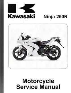 2008 - 2012 Kawasaki Ninja 250R Factory Service Manual