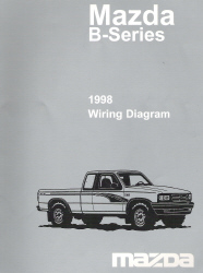 1998 Mazda B-Series Wiring Diagram