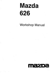 1996 Mazda 626 and MX-6 Factory Workshop Manual