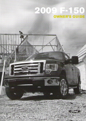 2009 Ford F-150 Owner's Manual with Case