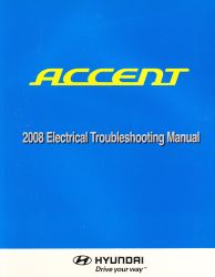 2008 Hyundai Accent Factory Electrical Troubleshooting Manual - ETM
