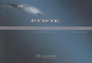 2010 Kia Forte Factory Owner's Manual Portfolio