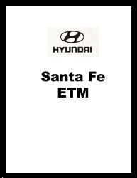 2003 Hyundai Santa Fe Factory Electrical Troubleshooting Manual - ETM