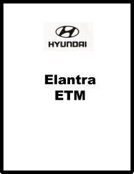 2005 Hyundai Elantra Factory Electrical Troubleshooting Manual - ETM