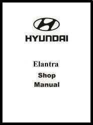 2002 Hyundai Elantra Factory Shop Manual