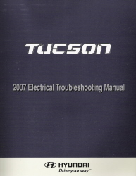 2007 Hyundai Tucson Factory Electrical Troubleshooting Manual - ETM