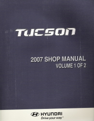 2007 Hyundai Tucson Factory Shop Manual Volume 1