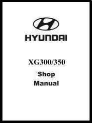 2005 Hyundai XG 300/350 Factory Electrical Troubleshooting Manual - ETM